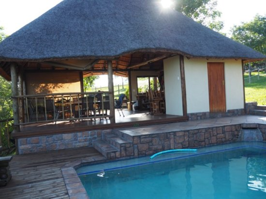 Kaapmuiden, South Africa: Shared pool with owners