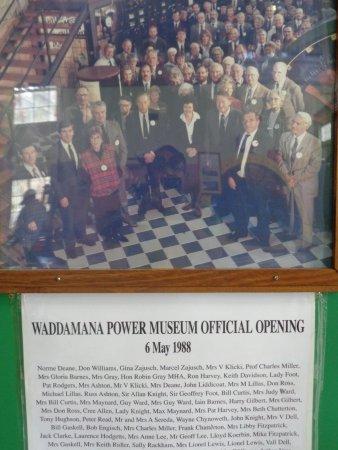 Waddamana, Austrália: Museum Opening