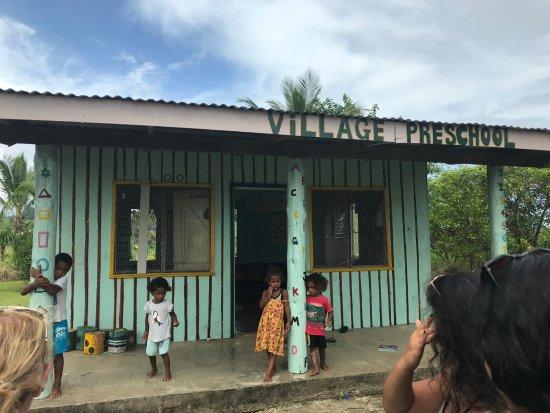 Viti Levu, Fiji: Village preschool