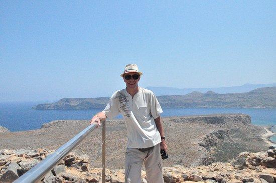 Gramvousa, Greece: забрался, тяжело дыша
