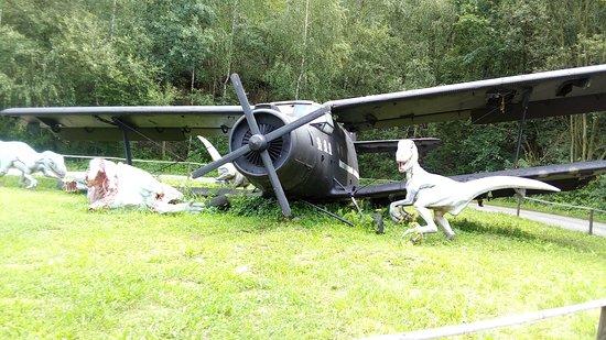 DinoPark Ostrava: Nejsem přesvědčen, že toto letadlo tématicky patří do areálu