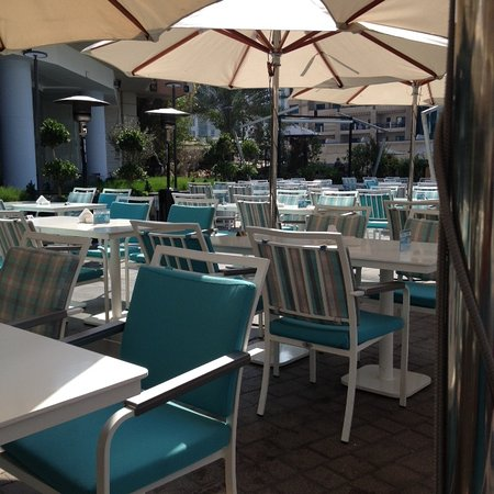 A large terrace for lots of customers picture of for Terrace 45 restaurant