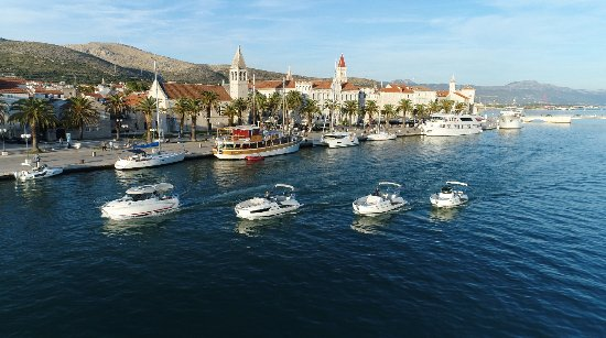 Trogir old town Providenca Charter and Travel - Motor boat charter Trogir Split Croatia