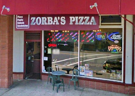 San Mateo, كاليفورنيا: Zorbas Pizza