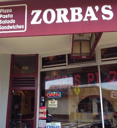 San Mateo, CA: Zorbas Pizza