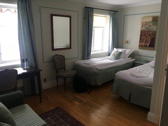 Färna Herrgård & Spa: Hotellrummet