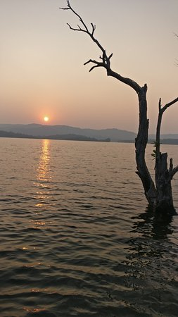 Sharavathi Adventure Camp: Sunset View