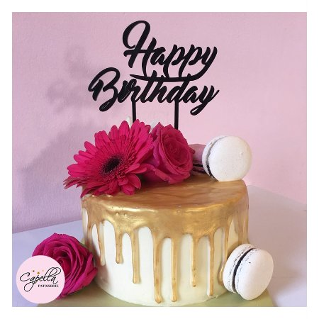 Wondrous Customized Birthday Cake Picture Of Capella Patisserie Funny Birthday Cards Online Benoljebrpdamsfinfo