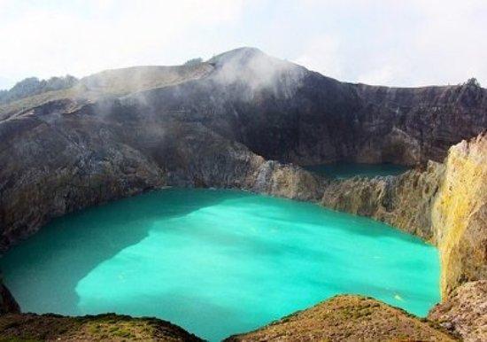 Obyek Obyek Wisata Di Pulau Flores Dan Taman National