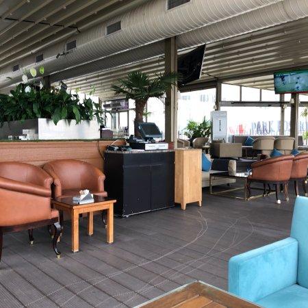 Amazing cvk Park hotel Hezarfen cafe