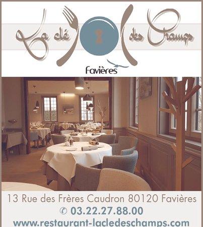 Favieres, France: Présentation du restaurant