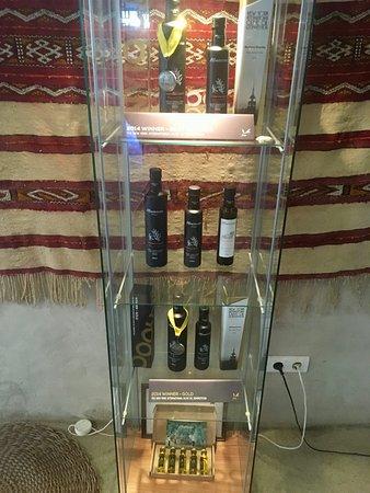 Moncarapacho, Πορτογαλία: Azeites premiados.