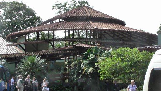 Província de Limon, Costa Rica: La sala vista dall'esterno