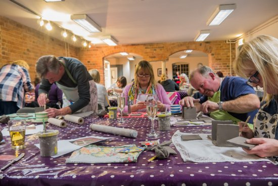 Sharpe's Pottery Museum: Pottery evening