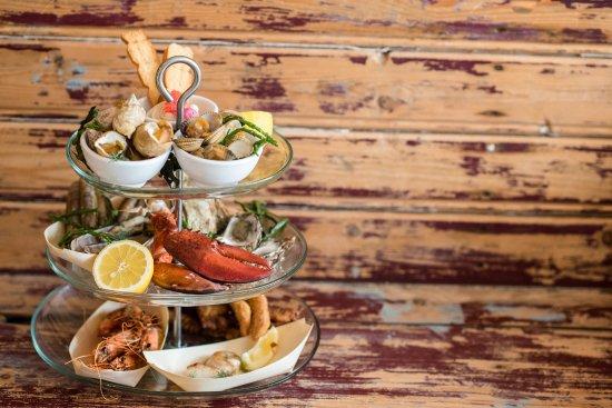 Buren, Hollanda: Seafoodplatter Restaurant StrAnders