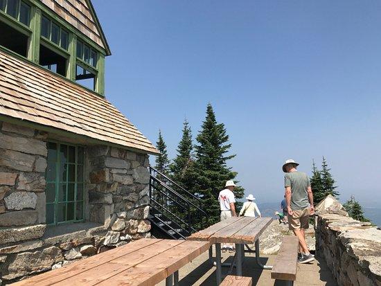 Mount Spokane: Vista House on Mt Spokane