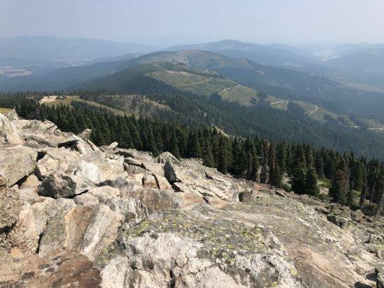 Mount Spokane: Views on Mt Spokane