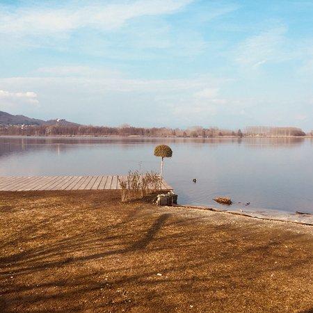 Mazze, Italia: Vista lago di Candia...