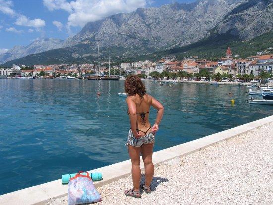 Makarska, Croatia: Harbour side