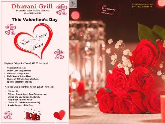 Franklin, MA: Valentine's Day Specials