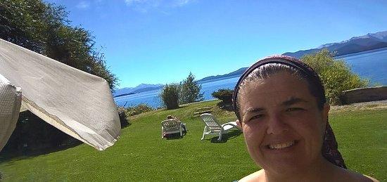 Hotel Patagonia: el solárium es una excelente opción un día que solo quieres asolearte y descansar