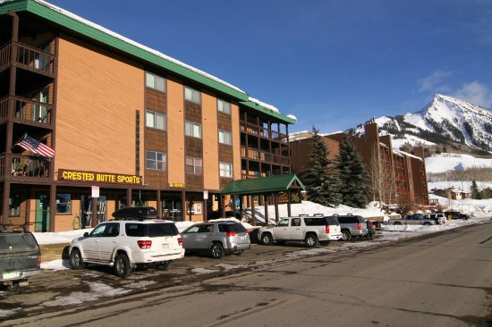 Crested Butte, CO: We are the only ski and bike shop with storefront parking!