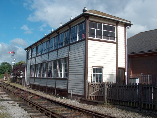 ‪Exeter West Signal Box‬