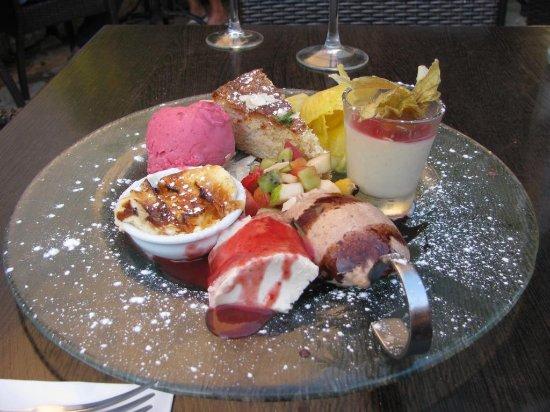 dessert tapas