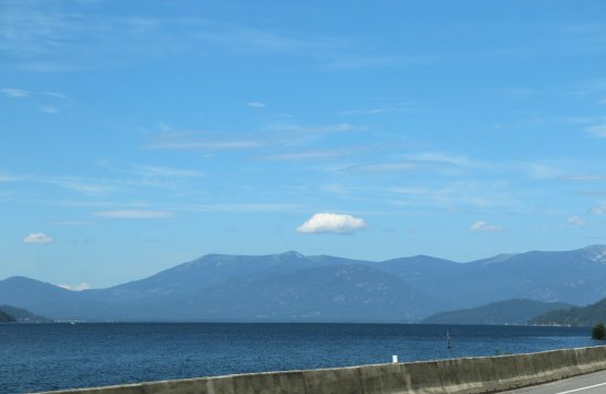 Pend Oreille Scenic Byway : Lake Pend Oreille