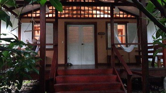 Namuwoki Lodge: Ingresso del bungalow