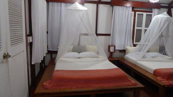 Namuwoki Lodge: I letti del bungalow n° 3