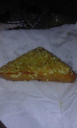 Lychee Garden: Looks like prawn toast but doesn't taste like it