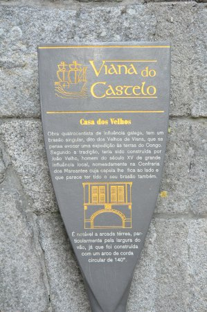 ‪‪Viana do Castelo‬, البرتغال: History tablet at location.‬