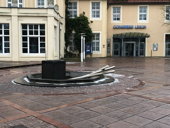 Celle, Germany: Brunnen vor der Congress Union