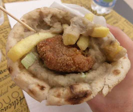 Ellas Sassari: Gyros vegetariano