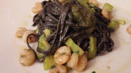 Kliko Ristorantino Da Giuseppe: Delicious ink pasta