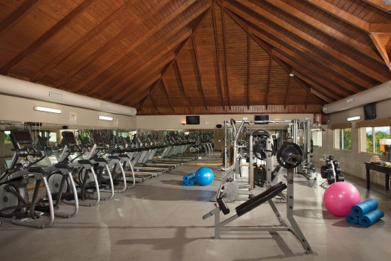 Gym Picture Of Dreams Punta Cana Resort Spa Tripadvisor