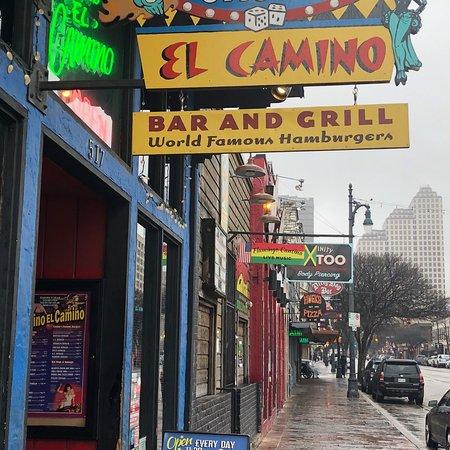 Casino el camino drink menu