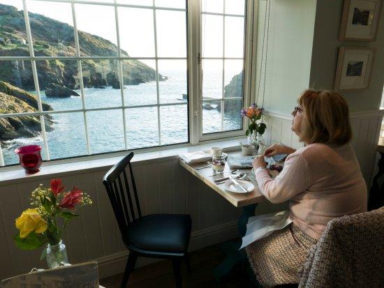 Portloe, UK: best breakfast view ever?