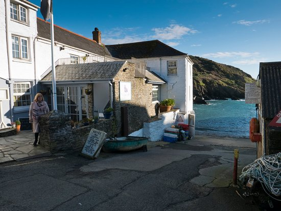 Portloe, UK: won't get closer to the sea