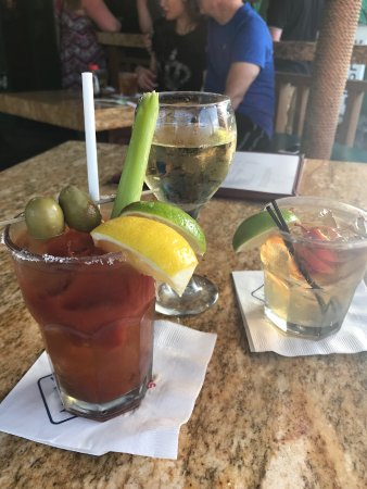 Zia's Caffe : Bloody Mary at brunch
