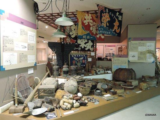 Higashikagawa, Japan: 瀬戸内の海運や漁具の展示が充実している東かがわ市歴史民俗資料館