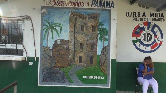 Sixaola, קוסטה ריקה: Il benvenuti di Panama