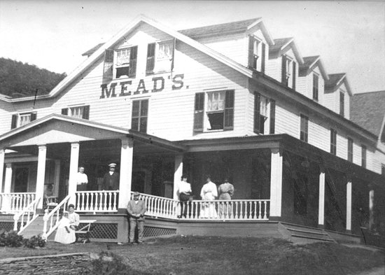 Historical Society of Woodstock: HSW Collection- Meads Mountain House   Woodstock NY