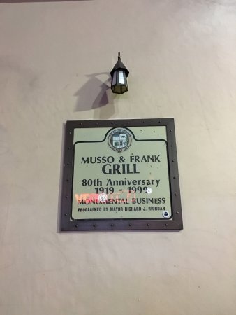 Musso & Frank Grill 사진