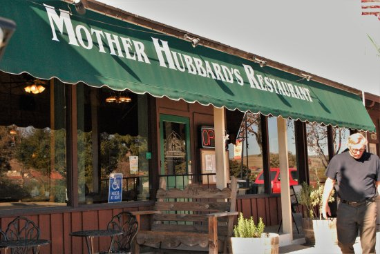 Mother Hubbard's Restaurant: the front of the restaurant