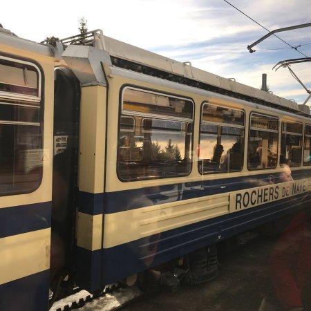 Rochers-de-Naye: Train journey Rocher de Nayes
