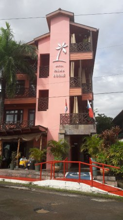 Hotel Palma Royale: La facciata dell'Hotel