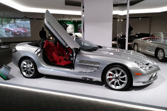 Mercedes Benz Slr Mclaren Picture Of Newport Car Museum