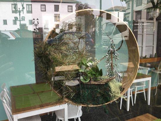 Café Do Museu: Decoração